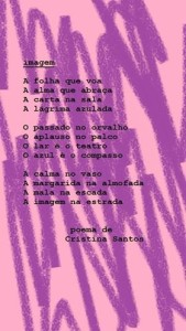 Poema Cristina Santos